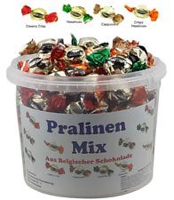 Pralinen aus belgischer Schokolade im praktischen Eimer - 1,2 kg Top Qualität