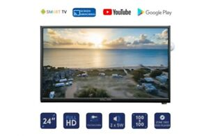 Englaon 24''HD SMART LED 12V TV with Built-in DVD player -CHROME CAST INBUILT