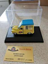 Oxford Diecast Roadshow MM035 Morris Minor Lyons Maid Ice Cream BN LE