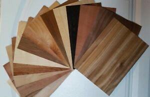 WOOD VENEER MARQUETRY SAMPLES(BUY ANY 3 GET ANOTHER FREE)