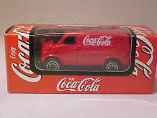 3 INCH Bedford Ford Van 1985 Coca-Cola 2003 Welly 1/64 Diecast Mint Boxed
