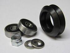 Delrin Dual V Wheel Kit (16 pack) - 20mm extrusion linear rail, CNC, 3D printers