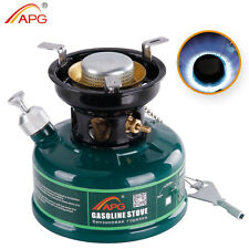 APG Mini Camping Gasoline Stove Non Preheating No Noise Oil Stove Burner Outdoor