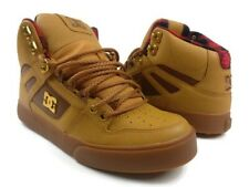 DC Shoes Skate Spartan High WC WNT Wheat ADYS400005 TBK MENS Size 8.5