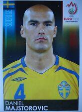 PANINI 394 Daniel Majstorovic SVEZIA uefa euro 2008 Austria-Switzerland