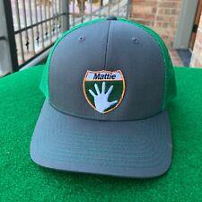Mattie 5 - Pro Putt-Putt & Mini-Golf Hat - Richardson 112 - Charcoal/Kelly Green