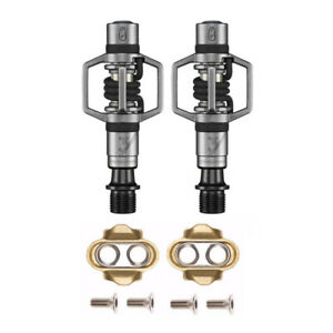 Crankbrothers Eggbeater 3 Mountain Bike Pedals Pair, Stainless Steel (Black) MTB