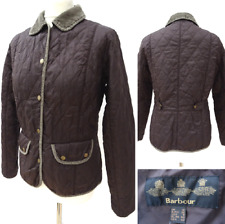 Ladies BARBOUR Summer LIDDESDALE Fitted Quilted BLAZER JACKET Size 12 #2602
