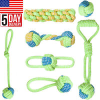 Dog Toys 7 Large Dog Rope Toys for Medium and Large Dogs Tug Play Chew Toy Fun