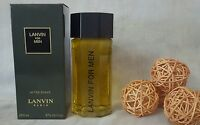 """LANVIN FOR MEN After Shave  200ml no spray   """"PRE-BARCODE"""""""