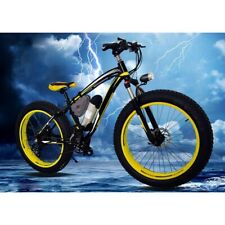Electric Bicycle 17Ah Lithium Battery 21 Speed fat tire electric mountain bike