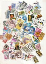 LOT DE 100 TIMBRES FRANCE OBLITERES TOUS DIFFERENTS