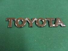 "Toyota Trunk Lid Liftgate Tailgate Chrome Emblem 5"" x 1"" OEM"
