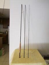 """3 Piece Rainshadow Custom Fly Rod  10' 4""""  5wgt  Green & Cloth Case"""