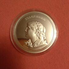 Switzerland Swiss 2006 50 francs festival Solothurn silver proof
