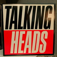 "TALKING HEADS - True Stories Movie Soundtrack - 12"" Vinyl Record LP - EX"