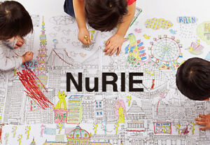 Kids Colouring Poster NuRIE Giant Colouring Poster for the Children & Adult