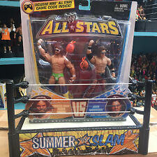 WWE Macho Man Randy Savage John Morrison Mattel Elite All Star 2 Paquete de lucha libre