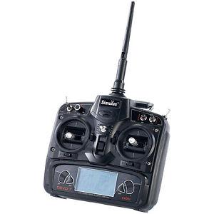 Simulus Funk-Fernsteuerung DEVO-7 für Quadrocopter und RC-Fahrzeuge