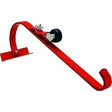 QualCraft 2481 Steel Ladder Jack Hook w/ Roller Roofing Protection (Single)