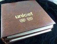 UNO Unicef Flaggen der Nationen Sammlung FDC 1980 1988 1989 komplett Ringbinder
