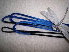 Custom BLUE bowstring BUILT TO YOUR SPECS. Longbow/recurve bowstrings.