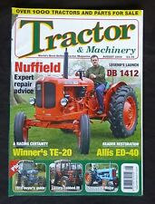 Tractor & Machinery, August 2009, Nuffield expert repair, DB 1412, Alllis ED-40