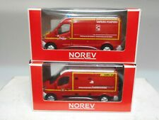RENAULT MASTER 2014 SAPEURS POMPIERS & SDIS AMBULANCE NOREV 3 INCHES