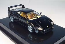 Mattel Hot Wheels 1/43 Ferrari F 40 (1987) schwarz in O-Box #139