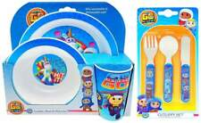 Go Jetters 6-Piece Dinner and Cutlery Set | Cup, Bowl, Plate, Knife, Fork, Spoon