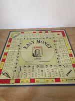Vintage Milton Bradley EASY MONEY Boardgame Game PARTS 4039 Board Only