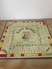 Vintage Milton Bradley EASY MONEY Boardgame Game PARTS 4039 Board Only