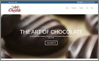 YUMMY CHOCOLATE Website Upto $27.50 A SALE|FREE Domain|FREE Hosting|FREE Traffic