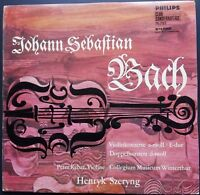 Bach - Violin Concertos, SZERYNG, RYBAR, Philips 76787 STEREO