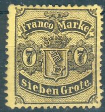 Bremen, Mi.-Nr.13*, Michel 190 Euro, feinst