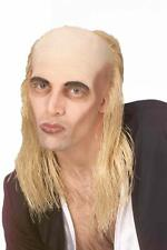 Riff Raff Wig Undertaker Mortician Zombie Halloween Bald Skull Cap Rocky Horror