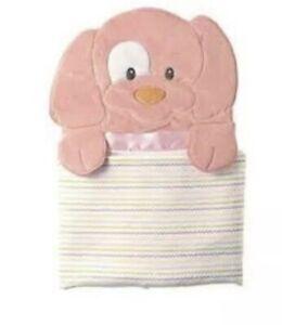 Gund Spunky Baby Blanket 58973 Pink 27x30 Fleece