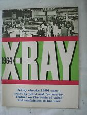X-Ray 1964 AMC Rambler, Ambassador, American Motors. 1964 Cars Dealer Brochure