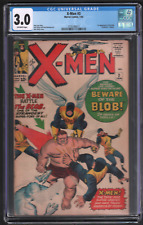 X-Men #3 1/64 Marvel CGC 3.0 1st Appearance of The blob 042721DBCG