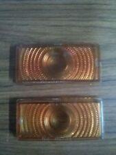 1950 Ford Parking Light Plastic lens Amber