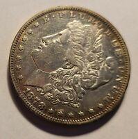 1878 Morgan Silver Dollar, BEAUTIFUL COIN! 7 feathers, 3rd reverse toning