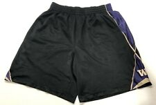Nike Uw University Washington Huskies Basketball Shorts Size L Vintage Look