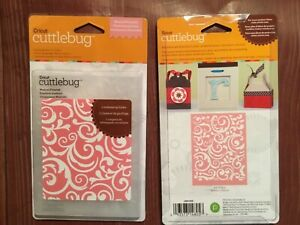 CUTTLEBUG MUSICAL FLOURISH A2 EMBOSSING FOLDER - #2001030 NEW IN PACKAGE