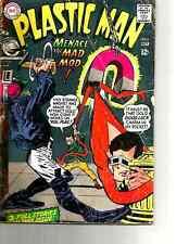 "PLastic Man # 6  ( DC 1967 )  Menace the ""MAD MOD""."