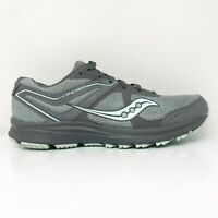 Saucony Womens Cohesion TR11 S10427-1 Gray Mint Running Shoes Lace Up Size 10.5