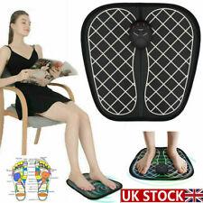 Foot Massager Mat Electric Feet Massage Pad Blood Muscle Circulation Relief Pain