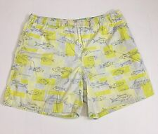 Vtg LILLY PULITZER Swim Shorts mens medium board trunks fish bathing suit