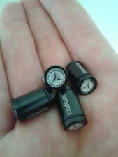 For Mercedes Benz Black Car Wheel Tire Valve Caps ( Fast Shipping )
