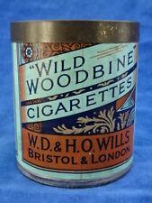 BOITE ANCIENNE  / Old box - CIGARETTES - WILD WOODBINE - RARE+++ !