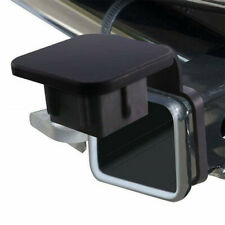 """Black 2""""Trailer Hitch Receiver Plug Cover Dust Protector For Ford Jeep GMC Truck"""